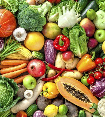 fruta e legumes
